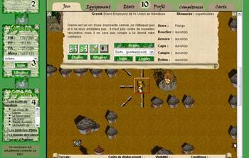 Ancien screen de jeu